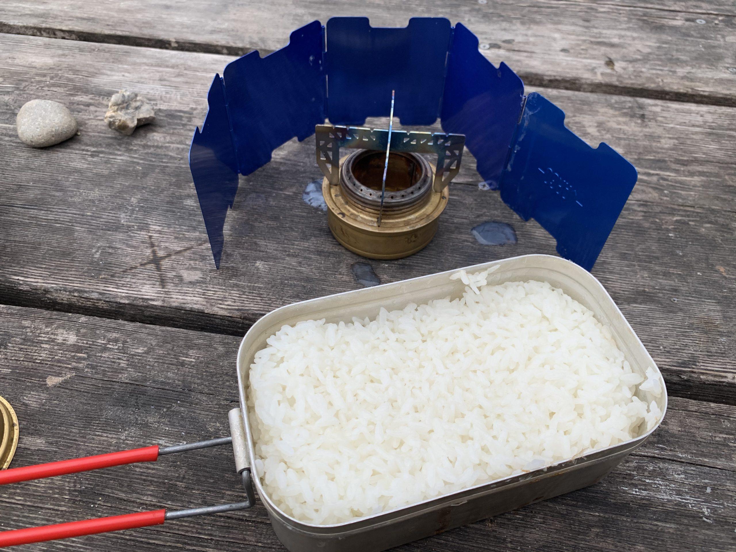 トランギア アルコールバーナー 炊飯